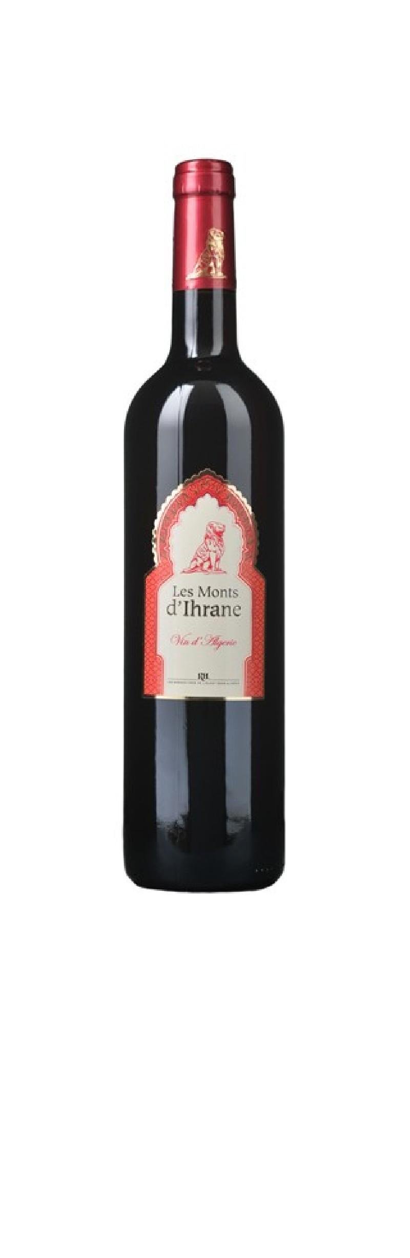 monts d 39 ihrane vin rouge algerien. Black Bedroom Furniture Sets. Home Design Ideas