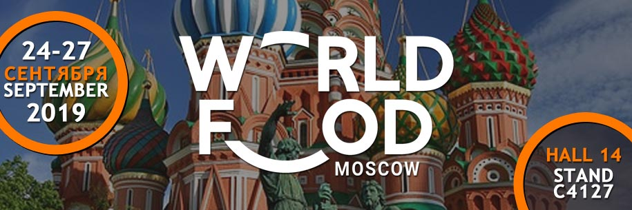 WORLD FOOD MOSCOU 2019