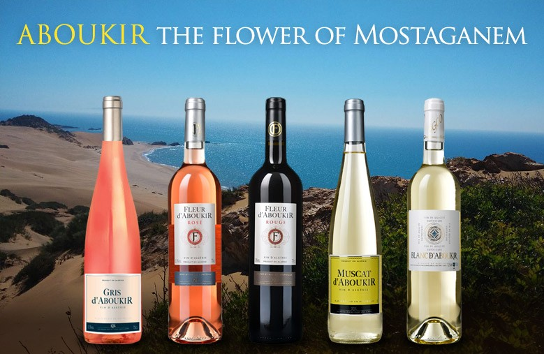 Algerian Wines Aboukir from Mostaganem